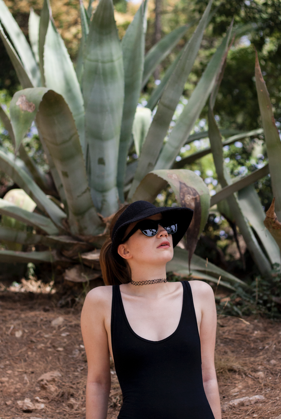 Barcelona, ootd, outfit, plants, Ace & Tate, sunglasses,