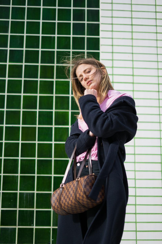 ootd, Louis Vuitton, Vintage, ethics, make it last, conscious