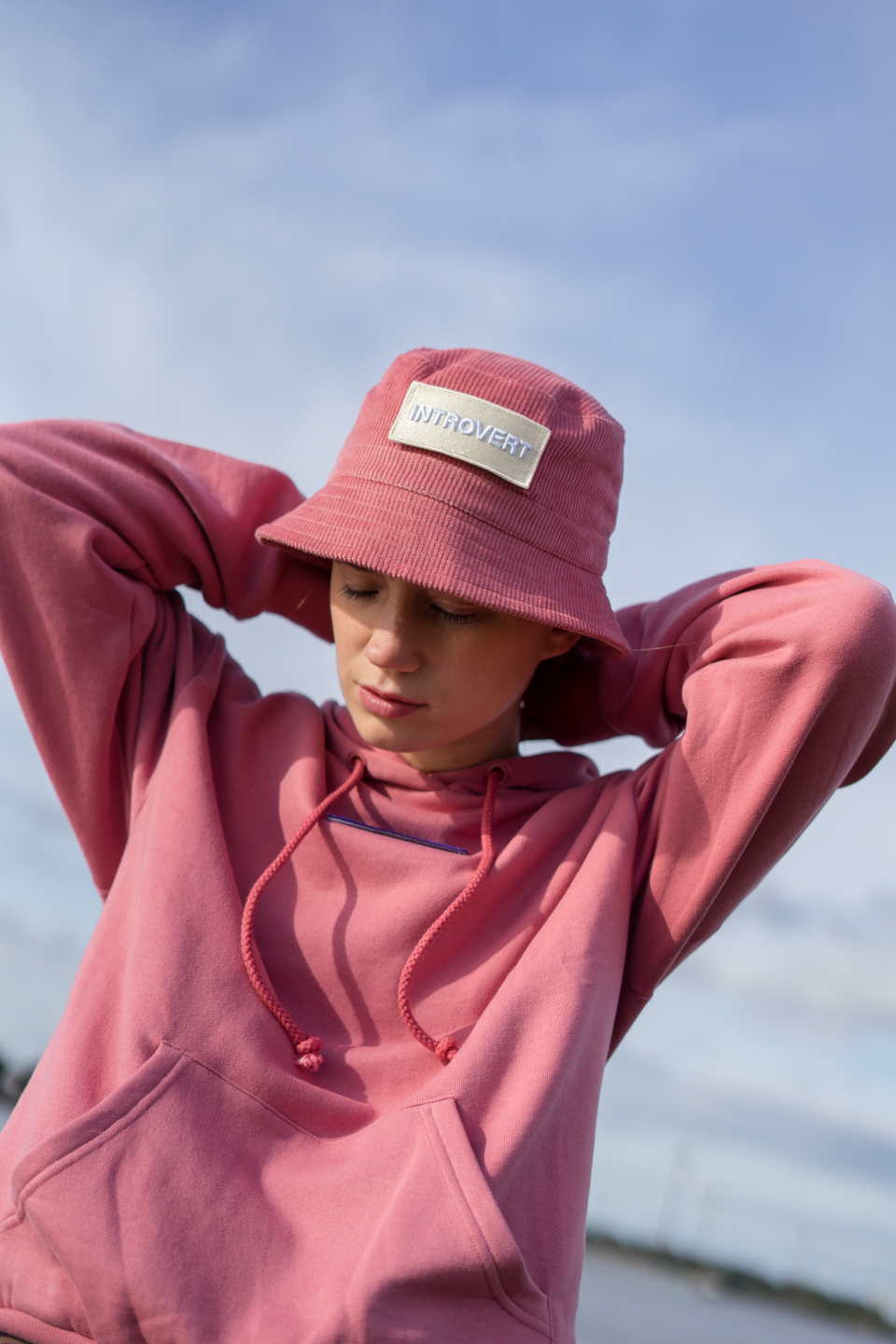 #allthefeels, Monki, Mental health, outfit, pink, Thank god it's